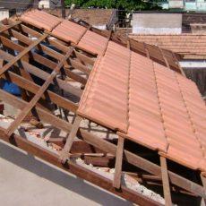 Execução de telhados