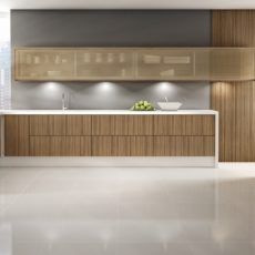 Fornecimento e colocação de móveis de cozinha